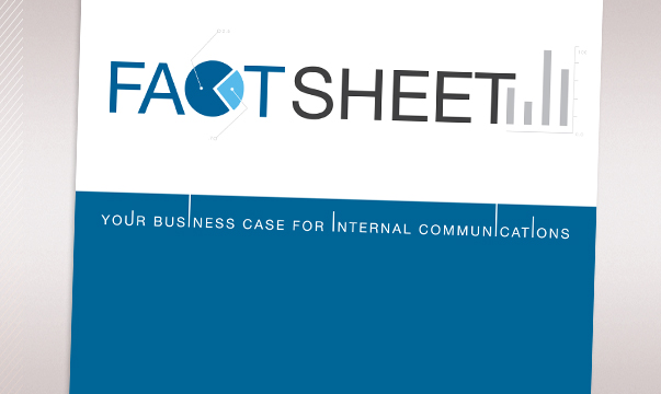 Fact Sheet: Your Business Case for Internal Communications