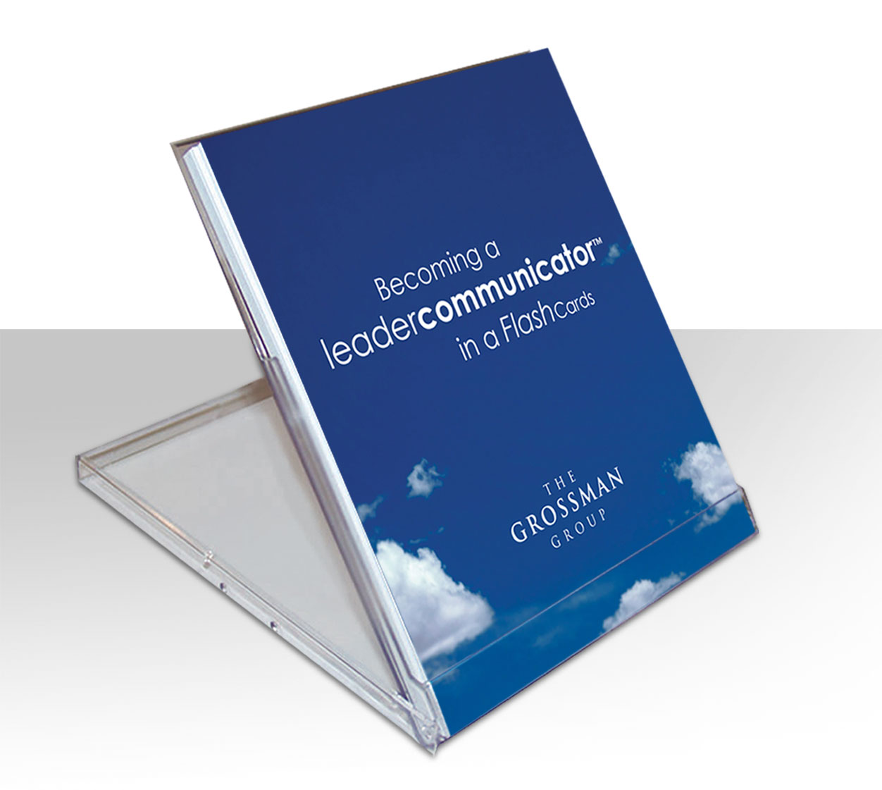 leadership communication tips, corporate gift idea, business gifts, gifts for CEO, CEO gifts, presents for leaders, leadership gifts, leader communicator flashcards, communication flashcards, flashcards for leaders, david grossman, the grossman group