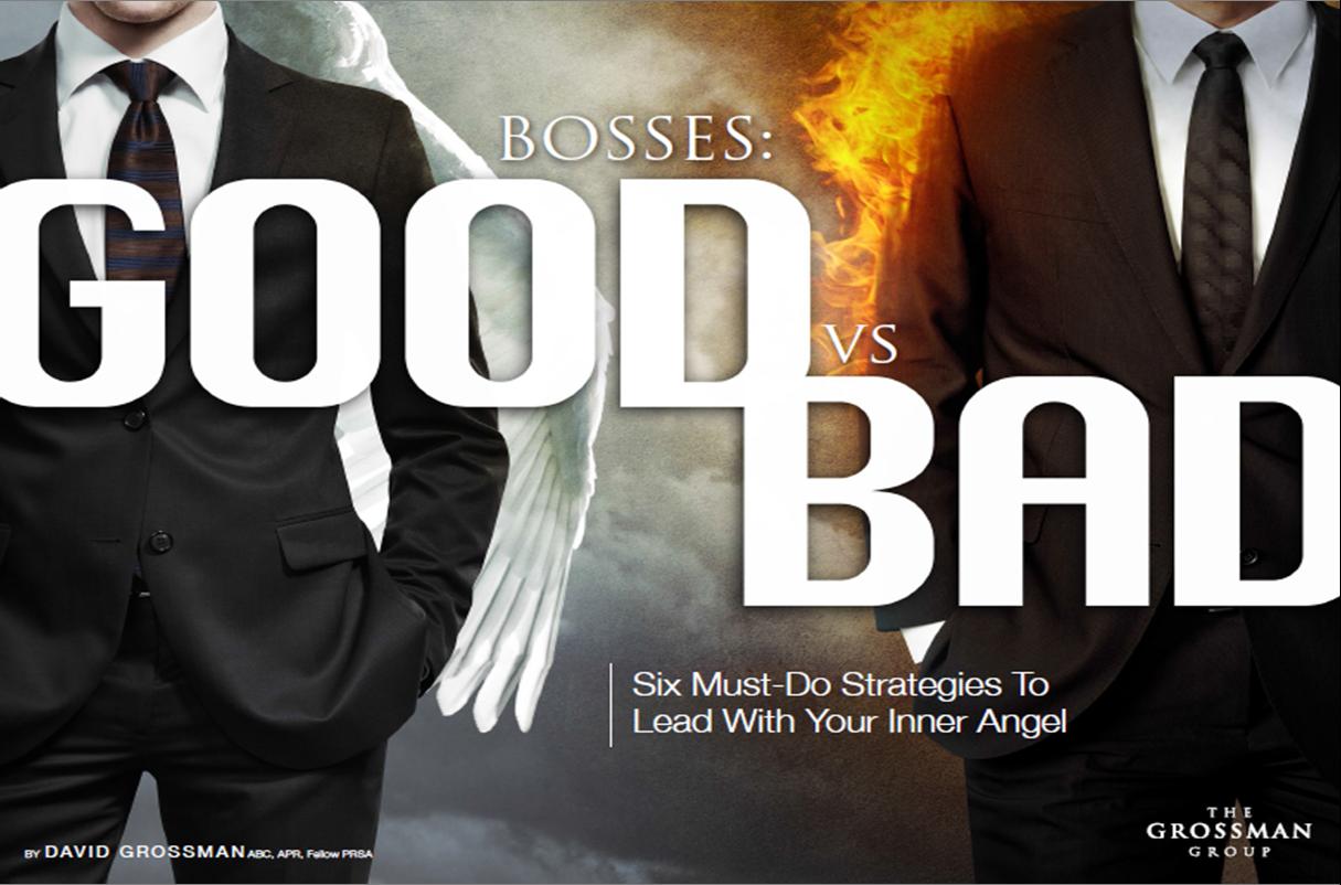 bad bosses, bosses, good boss, am i a bad boss?, how to lead better