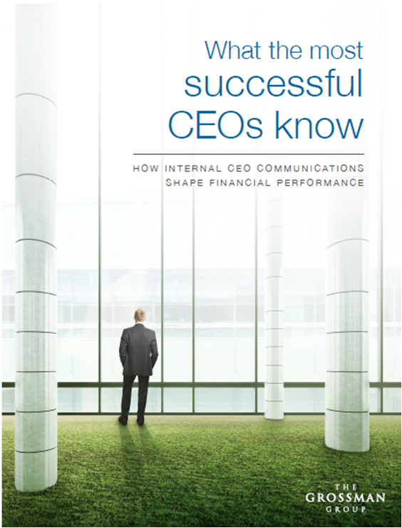 What the most successful CEOs know to drive financial performance