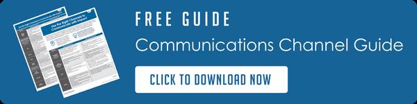 importance of meeting communication needs