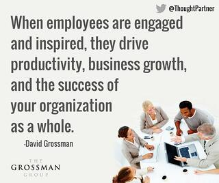 When employees are engaged and inspired they drive...