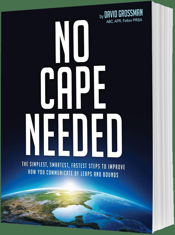 Book: No Cape Needed
