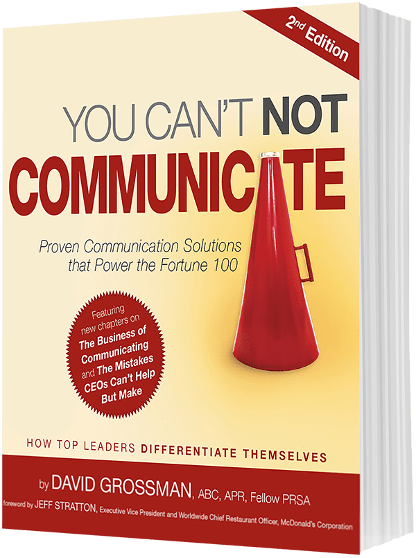 Book: You Can't Not Communicate