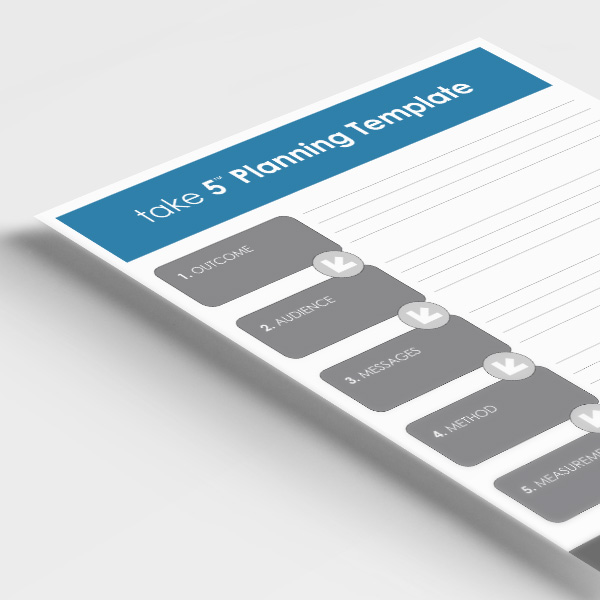 covid-take-5-planning-template