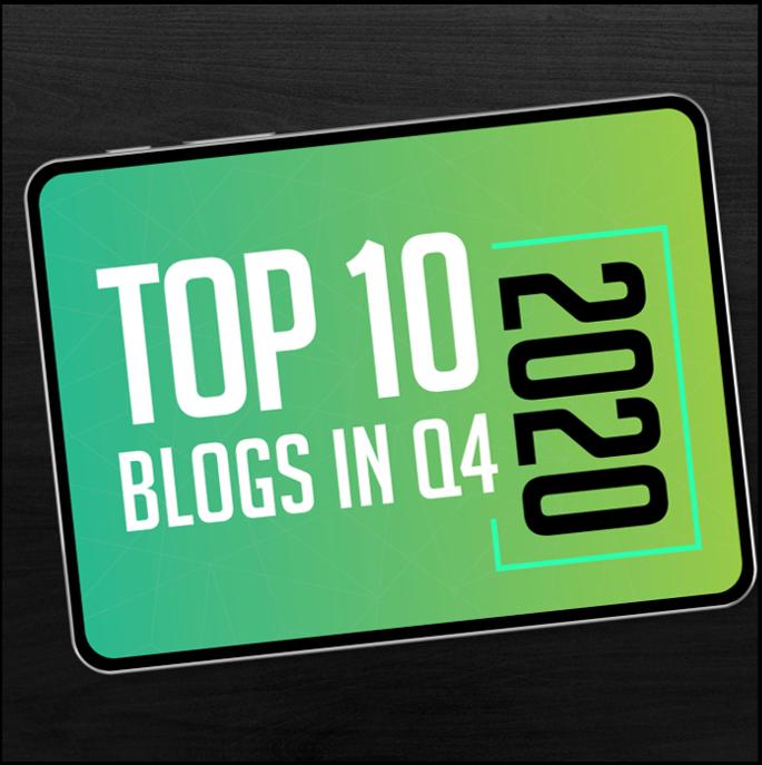 Top Blogs Q4 2020
