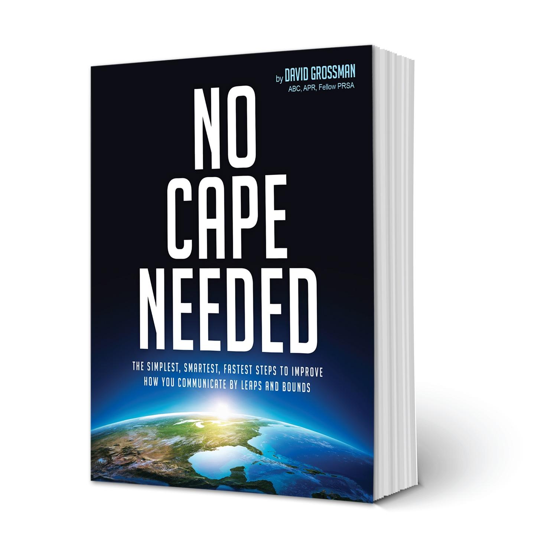 No Cape Needed Cover