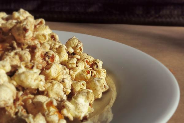 Spiced Holiday Popcorn